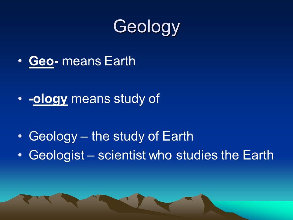 What scientist and philosophers used to think… Up until the end of the 1700's people believed that the Earth was only 2000 years old.