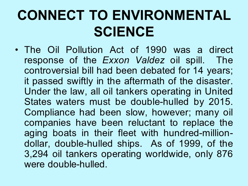 BRAIN FOOD Within the first few weeks of the Exxon Valdez oil spill, more than a half million birds, including 109 endangered bald eagles, were covere