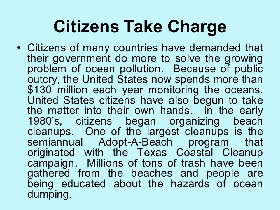 Action in the United States The United States, like many other countries, have taken additional measures to control local pollution. In 1972, Congress
