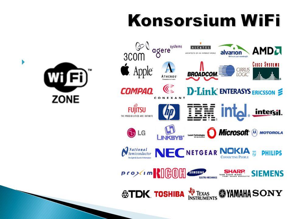  Beberapa perusahaan yang tergabung pada konsorsium WiFi