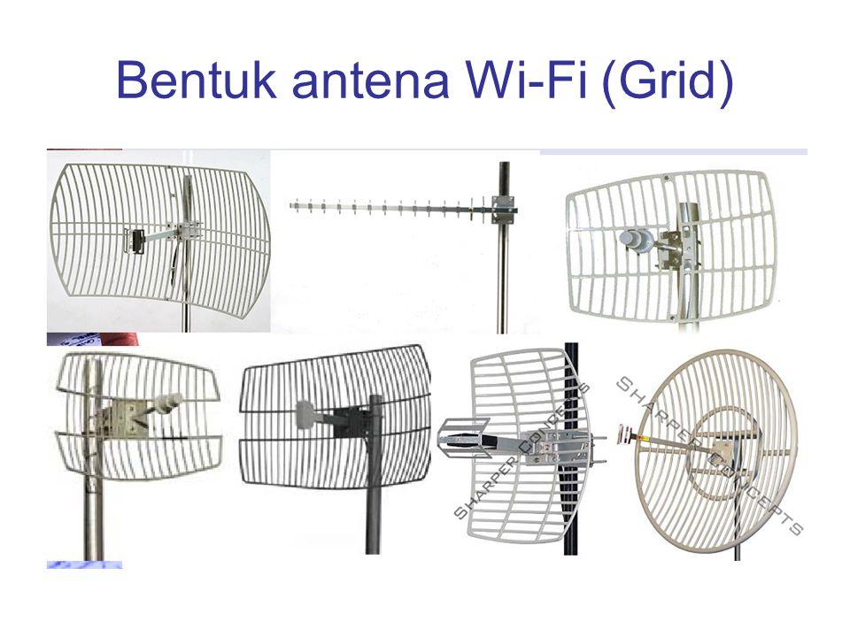 Bentuk antena Wi-Fi (Grid)