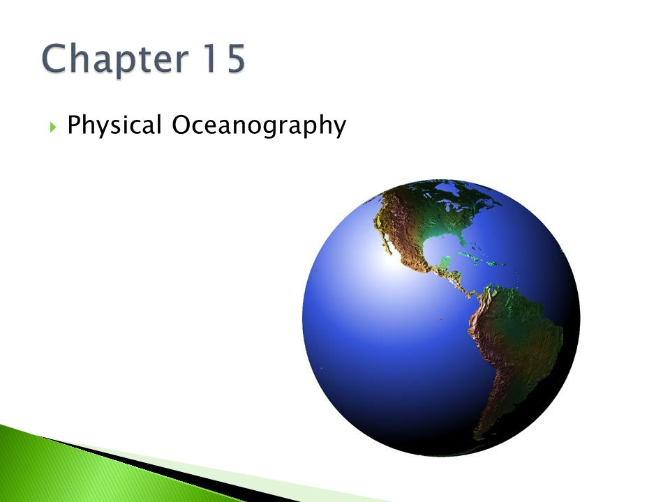  Physical Oceanography