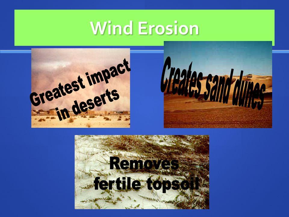 Wind Erosion