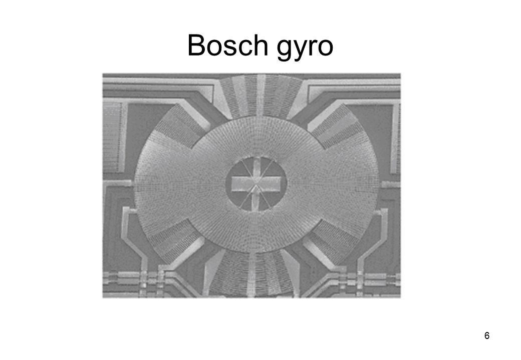 6 Bosch gyro