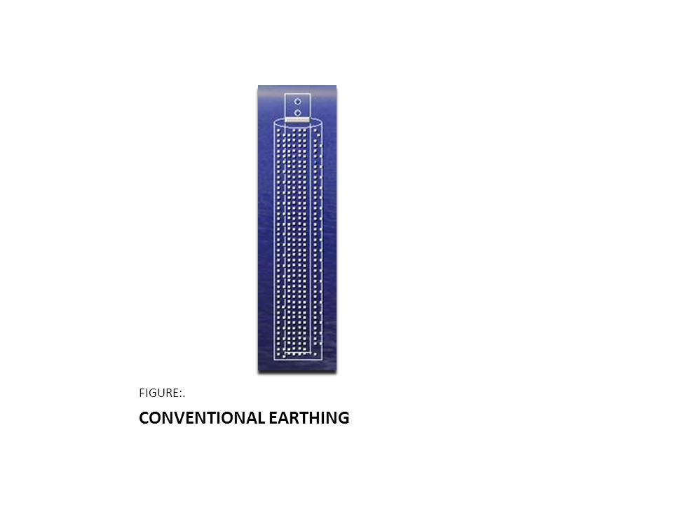 CONVENTIONAL EARTHING FIGURE:.