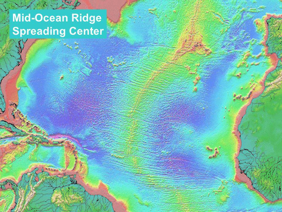 Mid-Ocean Ridge Spreading Center
