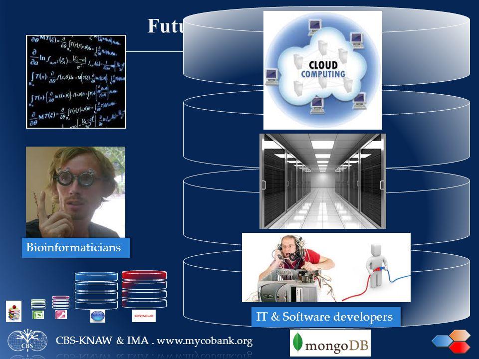 NOSQL Bioinformaticians IT & Software developers