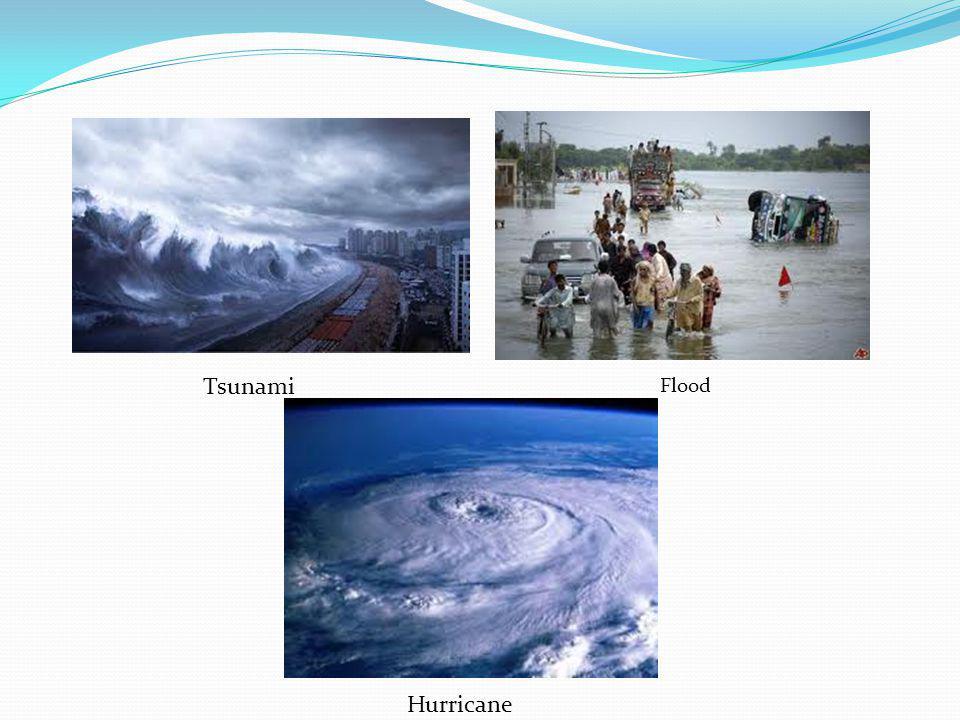 Tsunami Flood Hurricane