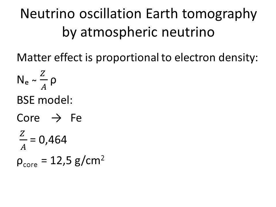 Neutrino oscillation Earth tomography by atmospheric neutrino