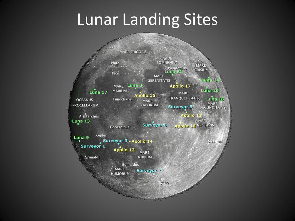 Lunar Landing Sites