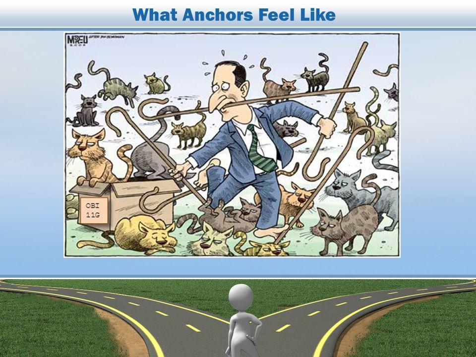 What Anchors Feel Like