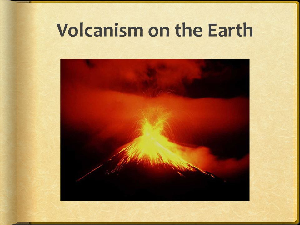 History of eruptions. Last eruption was 640,000 years ago.