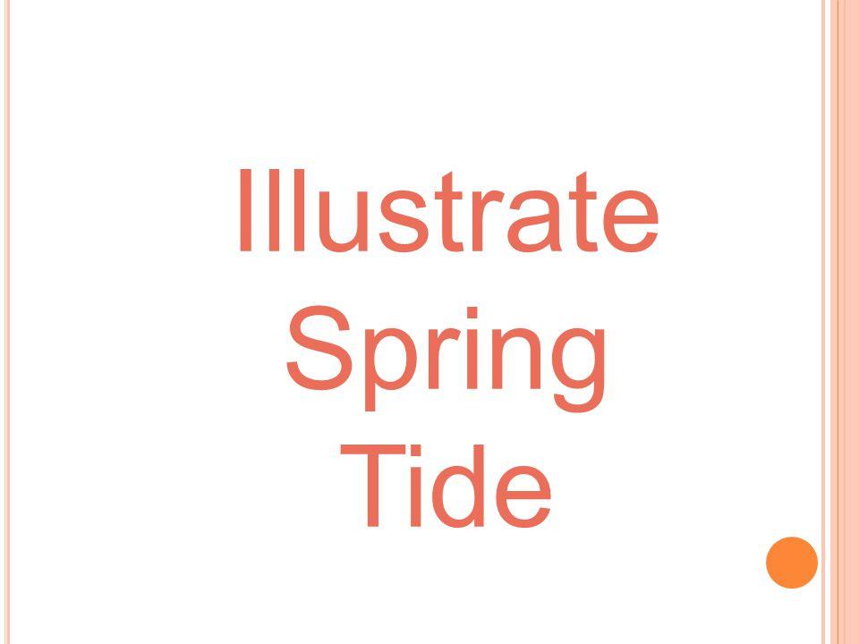 Illustrate Spring Tide