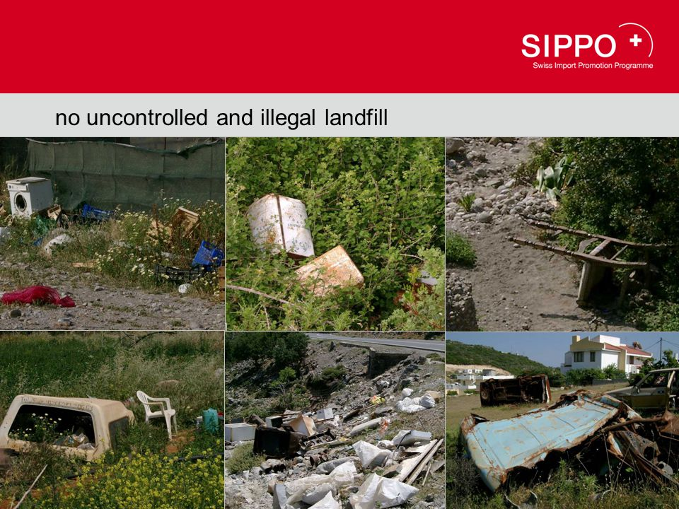 stop it !!! nature is not your dust bin no uncontrolled and illegal landfill
