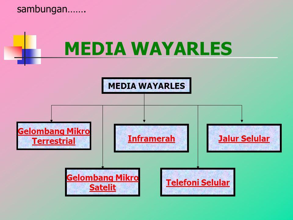 MEDIA WAYARLES sambungan…….