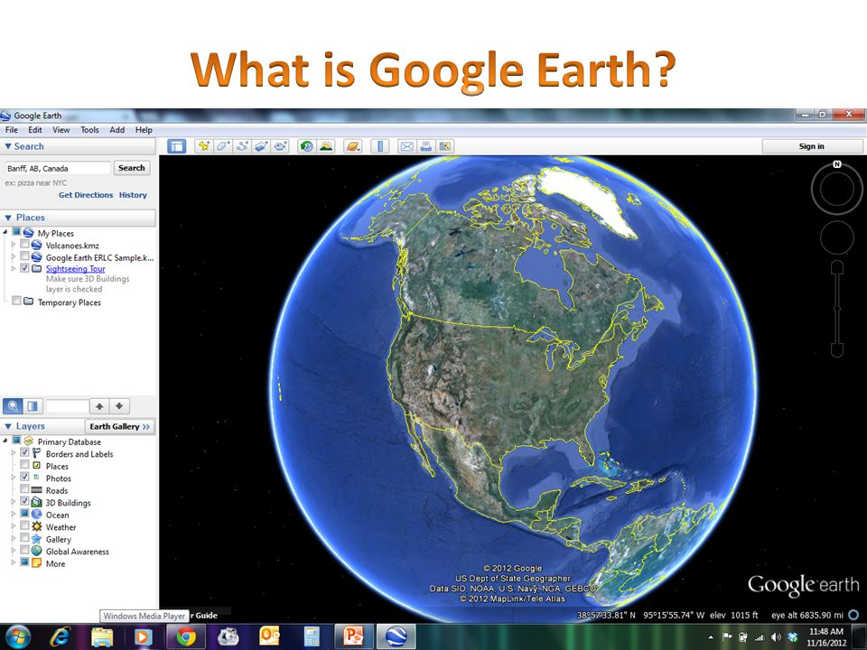 Rationale for Using Google Earth Skill & Attitude Development Visual literacy Global awareness Geographic thinking Inquiry