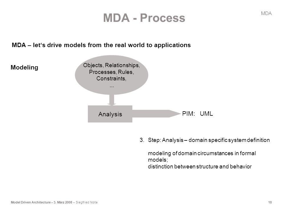 18Model Driven Architecture – 3.