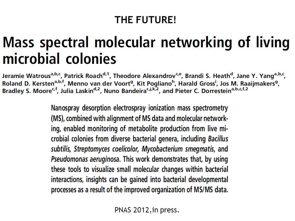 PNAS 2012,in press. THE FUTURE!