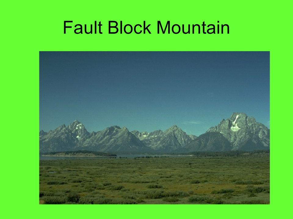 Fault Block Mountains