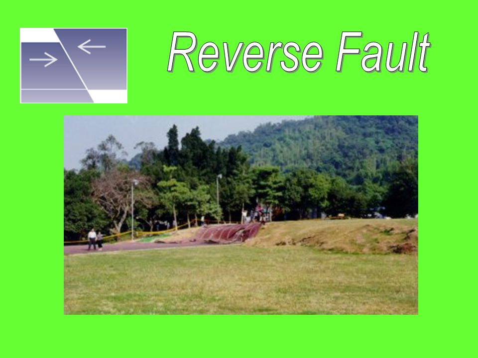 Compression Force Compression Force: pushingtogether force pushing something together reverse Makes a reverse fault What types of forces What types of