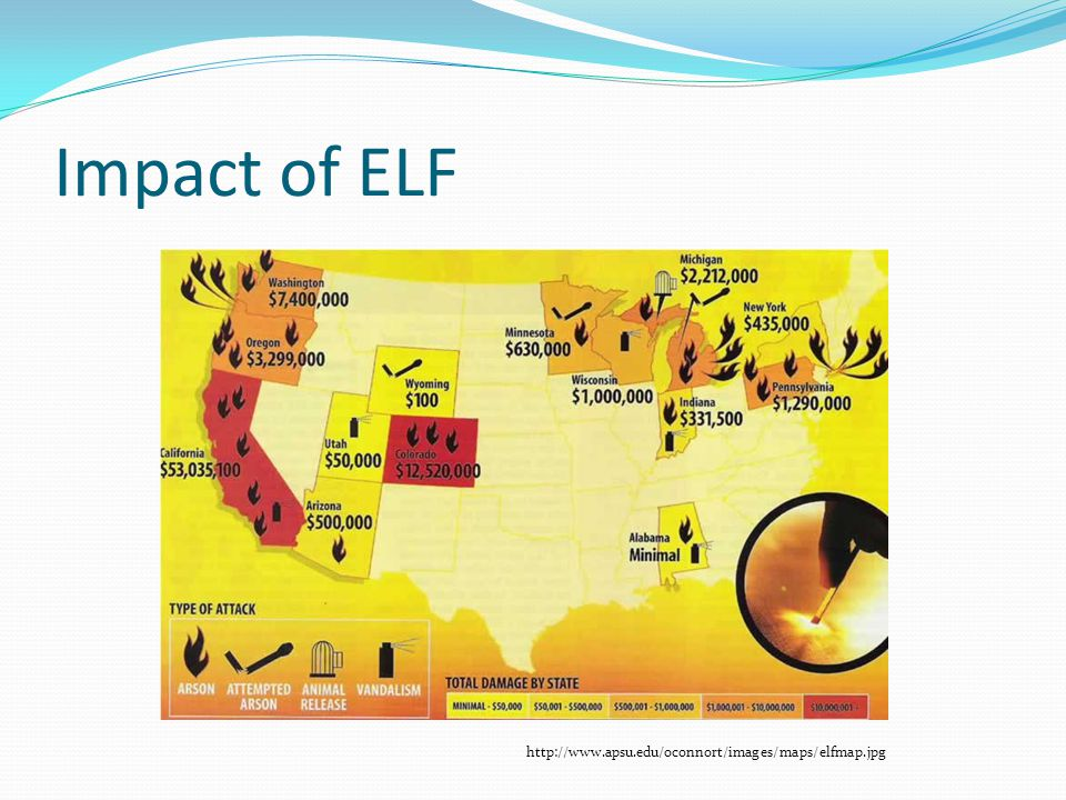 Impact of ELF http://www.apsu.edu/oconnort/images/maps/elfmap.jpg