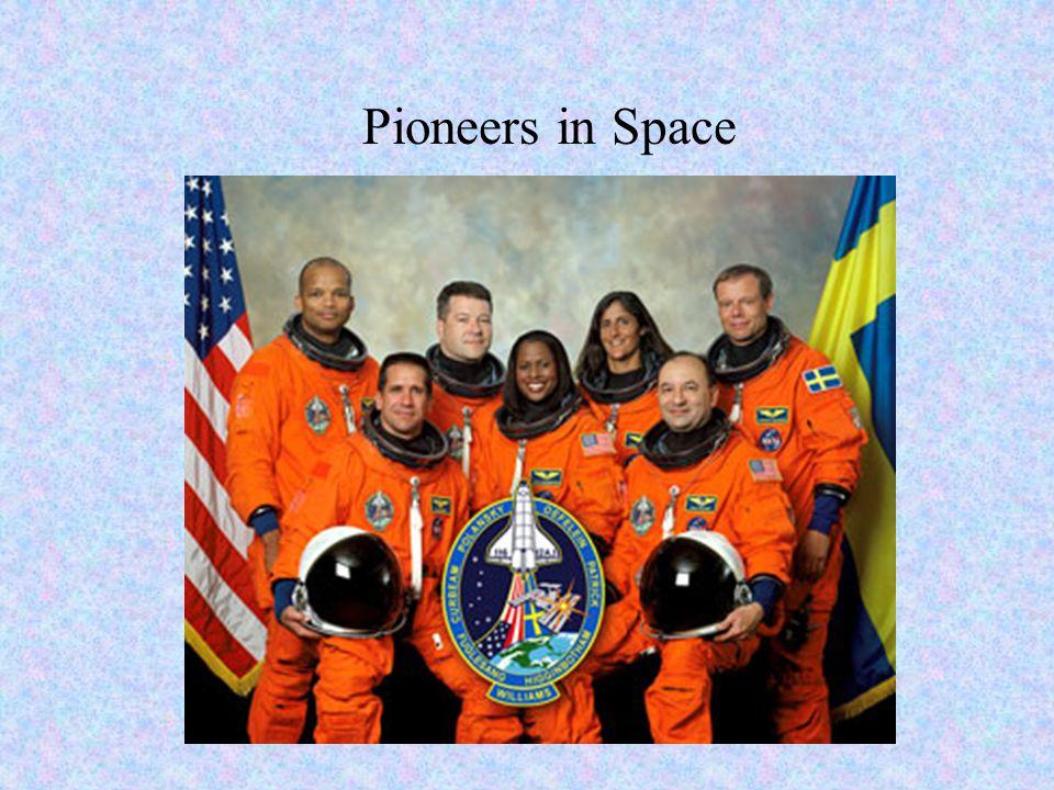 Pioneers in Space