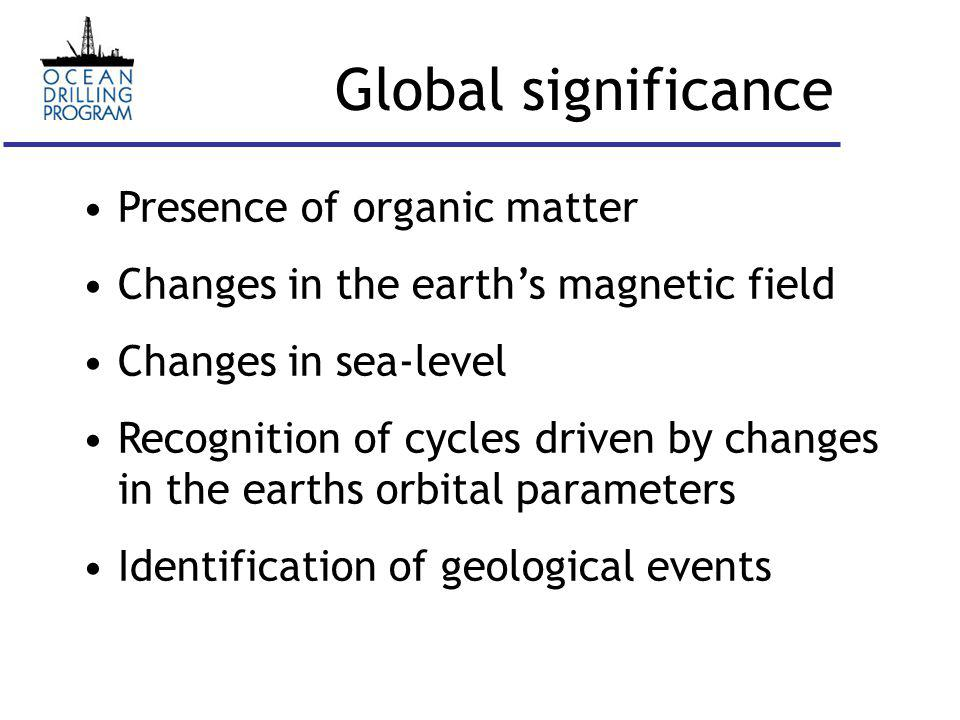 Cycles in paleoclimate Paleoclimatic cycles (on geological timescales e.g.