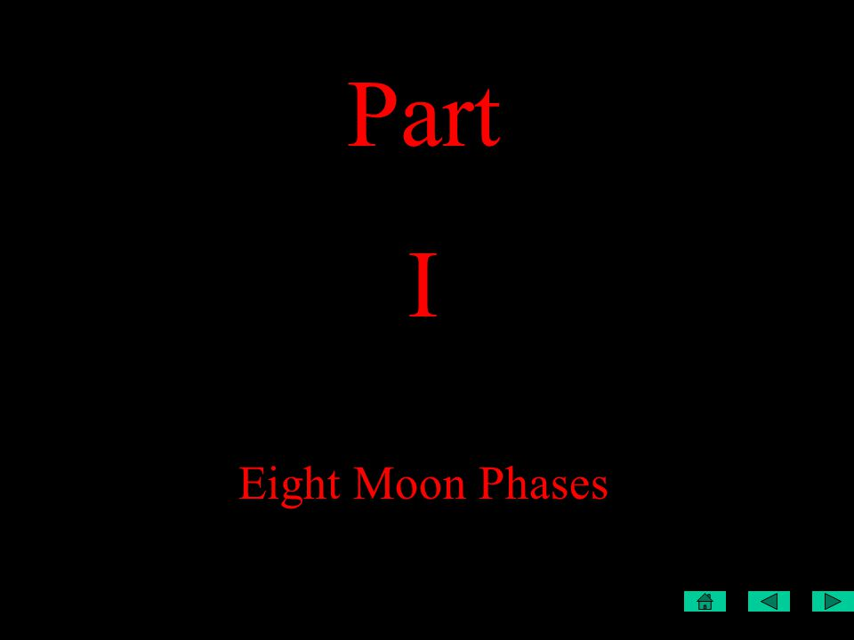 Part I Eight Moon Phases