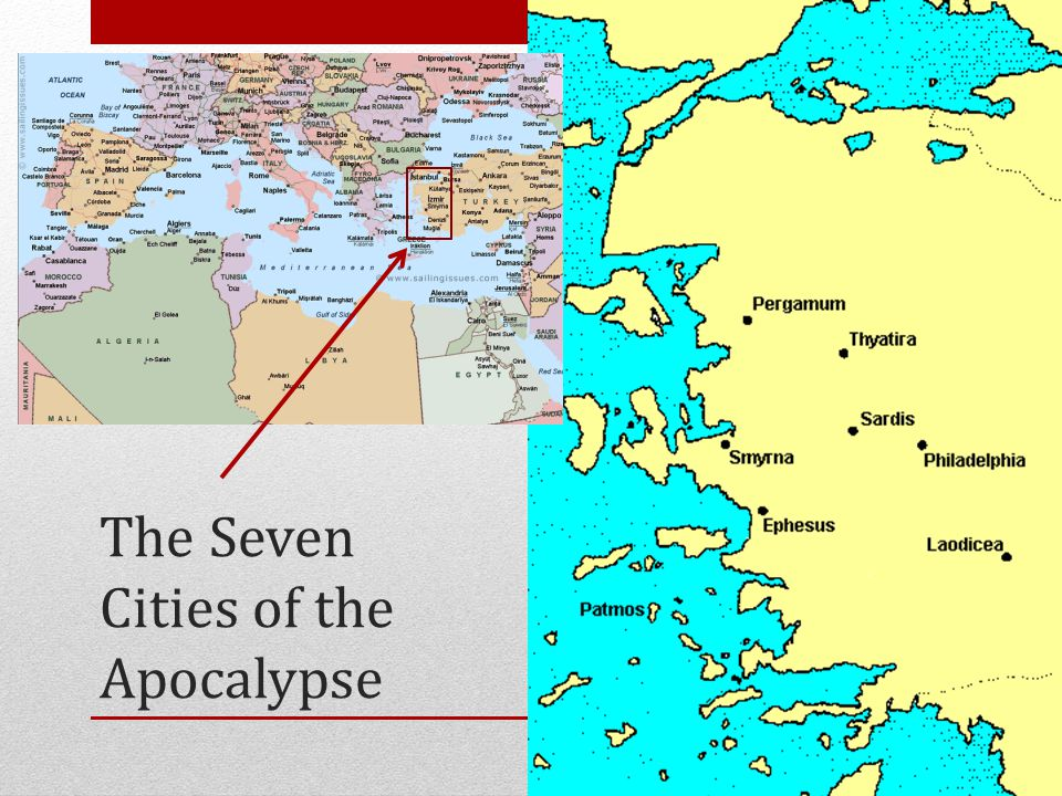 The Seven Cities of the Apocalypse