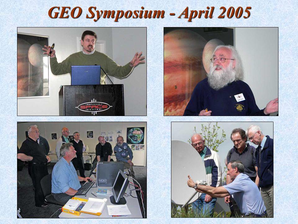 GEO Symposium - April 2005