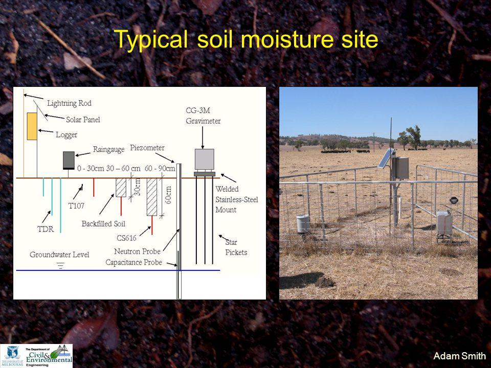 Adam Smith Typical soil moisture site