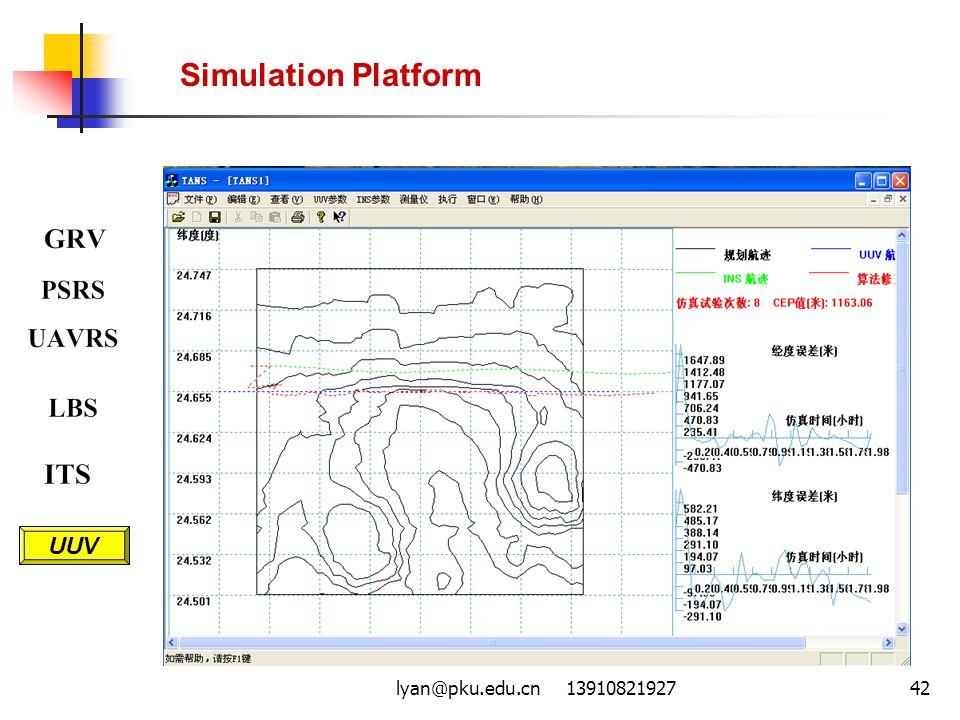 lyan@pku.edu.cn 1391082192742 Simulation Platform UUV