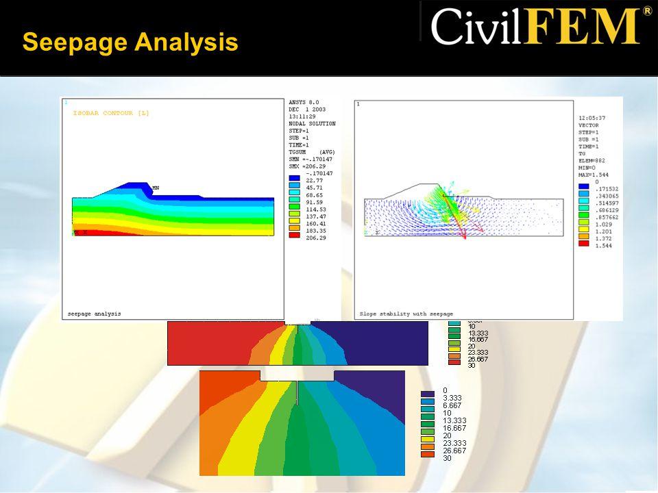 Seepage Analysis