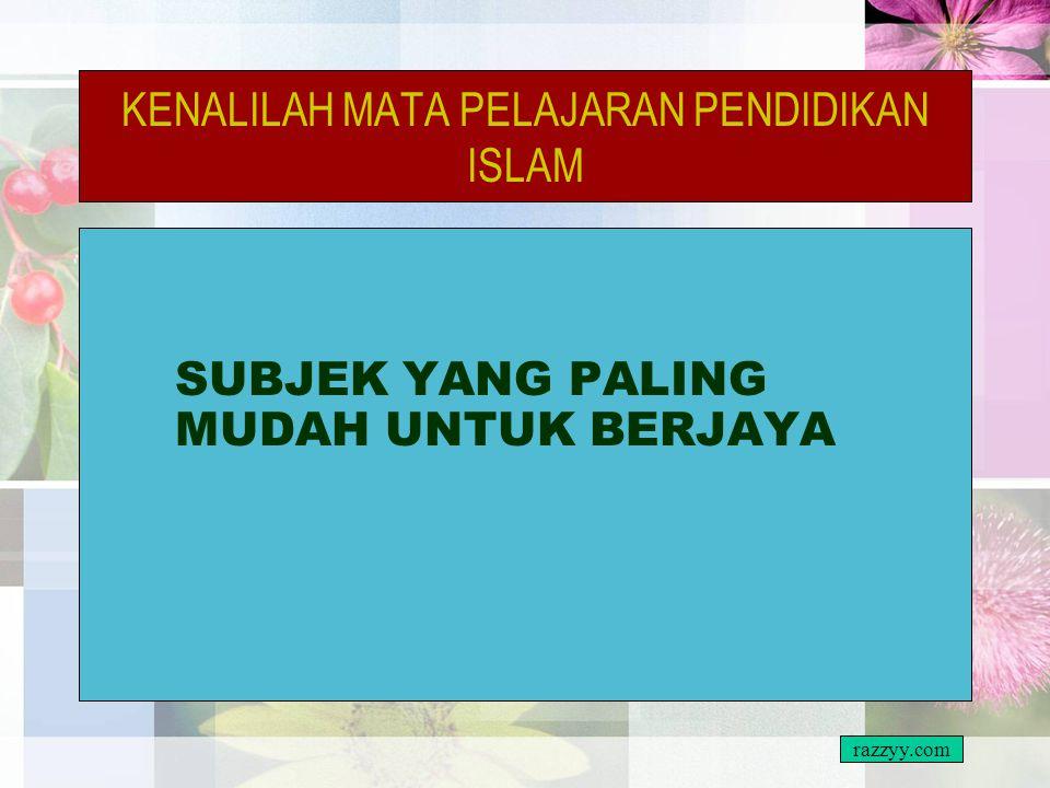 PERSEDIAAN CEMERLANG PENDIDIKAN ISLAM SEMUA PELAJAR MESTI MEMILIKI BUKU RUJUKAN NOTA RINGKAS TETAPI PADAT MENGIKUT BAB ADA SOALAN TAHUN-TAHUN LEPAS TA