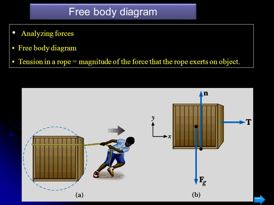 Example Recap FXFX N = mg mg a X = F X / m y x