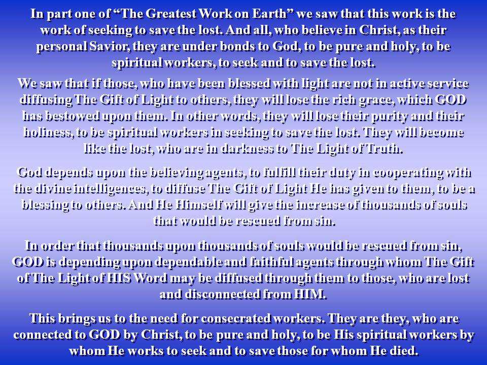 We need to examine ourselves, to see whether we are indeed worthy of the name of Christian.