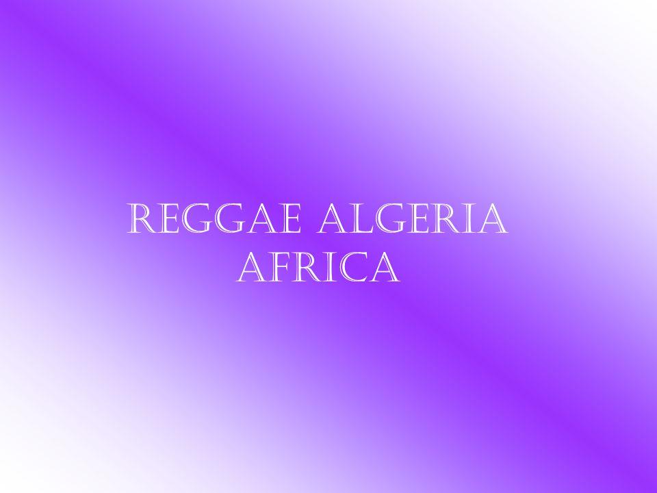 Reggae Algeria Africa