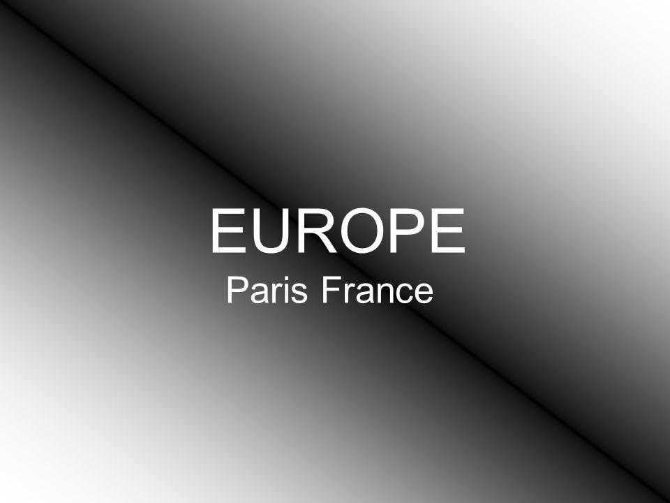 EUROPE Paris France