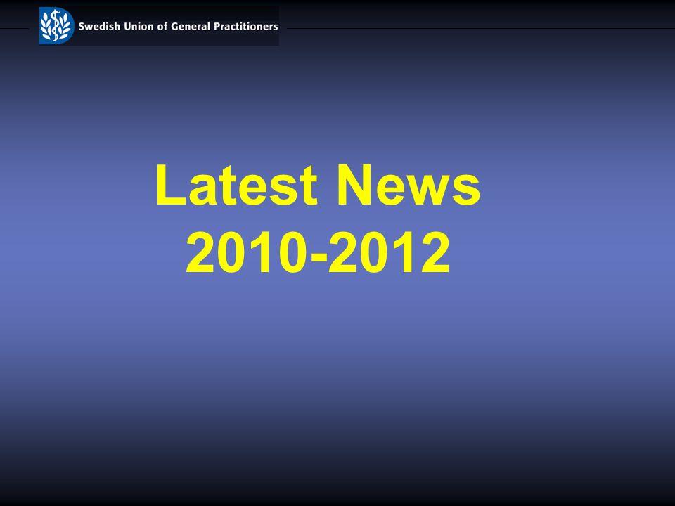 Latest News 2010-2012