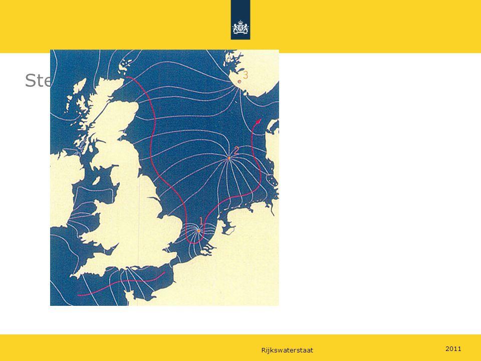 Rijkswaterstaat 2011 Step 9: continents & coriolis