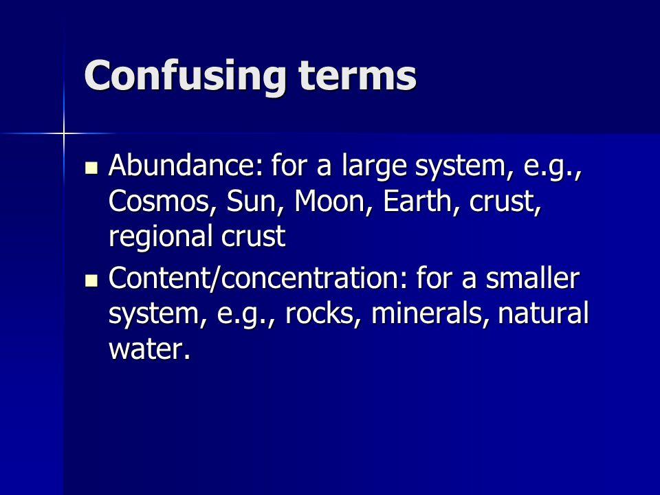 Abundances of elements in Primitive mantle compared to CI condrites