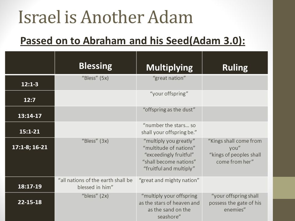 Canaan is Israel's Eden The Promised Land's boundaries are similar to Eden's.