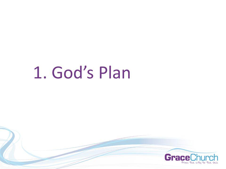 1. God's Plan