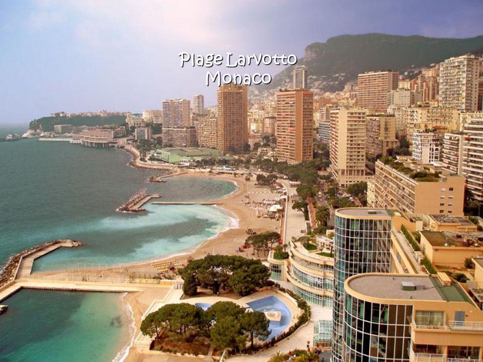 Plage Larvotto Monaco