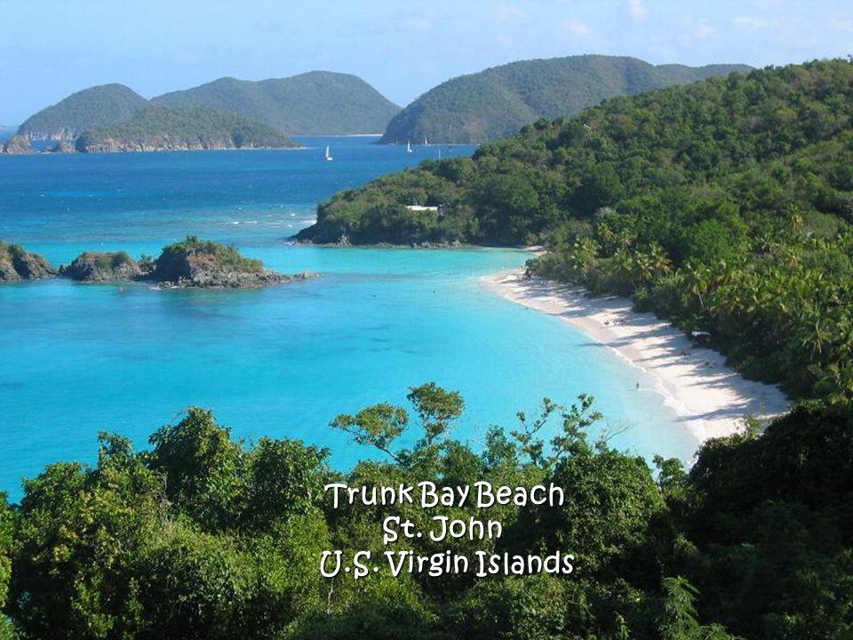 Trunk Bay Beach St. John U.S. Virgin Islands