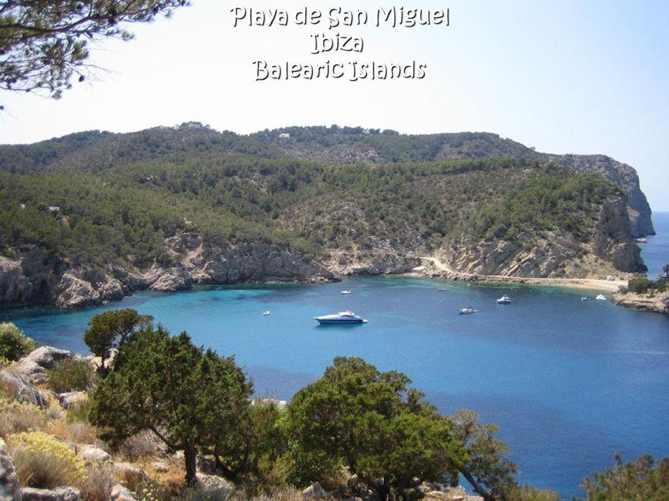 Playa de San Miguel Ibiza Balearic Islands