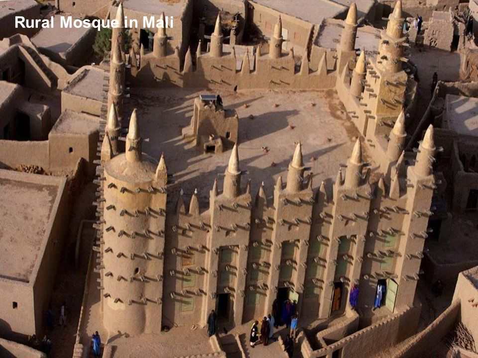 Rural Mosque in Mali