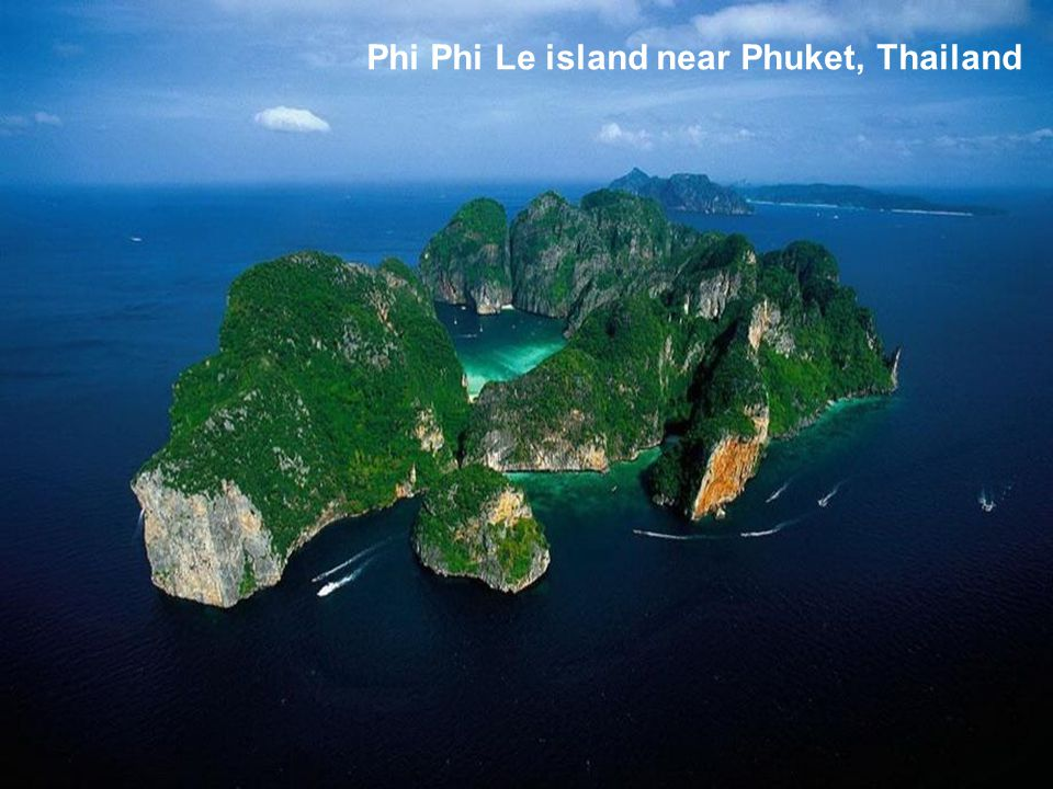 Phi Phi Le island near Phuket, Thailand