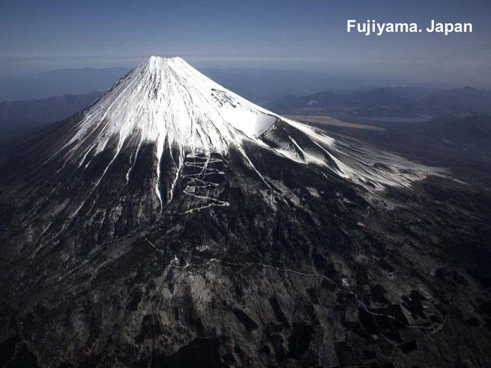 Fujiyama. Japan