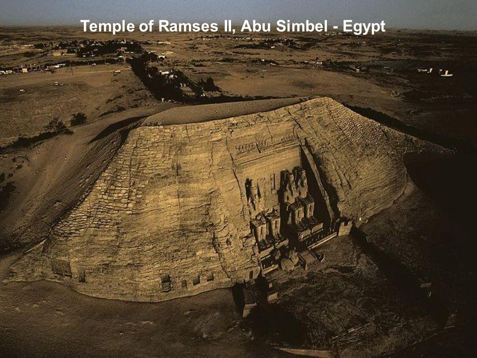Temple of Ramses II, Abu Simbel - Egypt